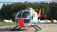 BO 105 zur Vermessung von Erprobung von Avionik%2dSystemen