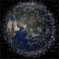 Space debris (artist's impression)
