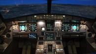 Sicht aus dem A320%2dCockpit