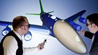 Bauteile zukünftiger Luftfahrzeuge auf der Powerwall