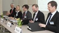 Unterzeichnung Kooperationsvertrag Forschungsverbund Windenergie