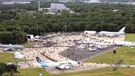 Flugzeugausstellung am Tag der Luft%2d und Raumfahrt 2011