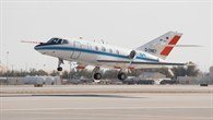 Falcon des DLR bei der Landung